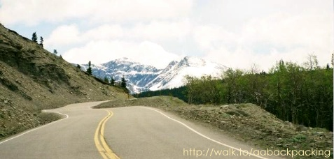 Hwy 49, east of GNP